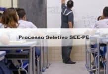 Processo Seletivo SEE-PE