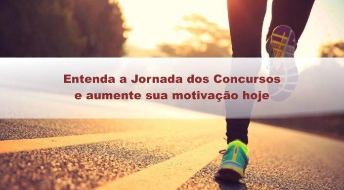 Entenda a Jornada dos Concursos e aumente sua motivação hoje
