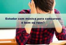 Estudar com música para concursos é bom ou ruim? Saiba a verdade agora