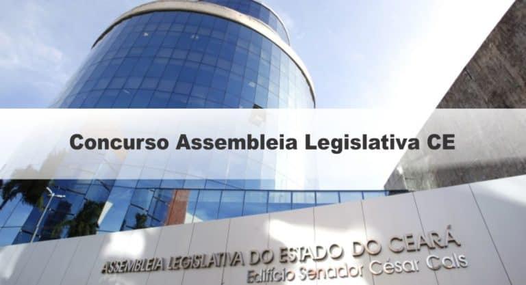 Concurso Assembleia Legislativa CE: Inscrições terminam hoje!