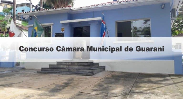 Concurso Câmara Municipal de Guarani GO: Inscrições Encerradas