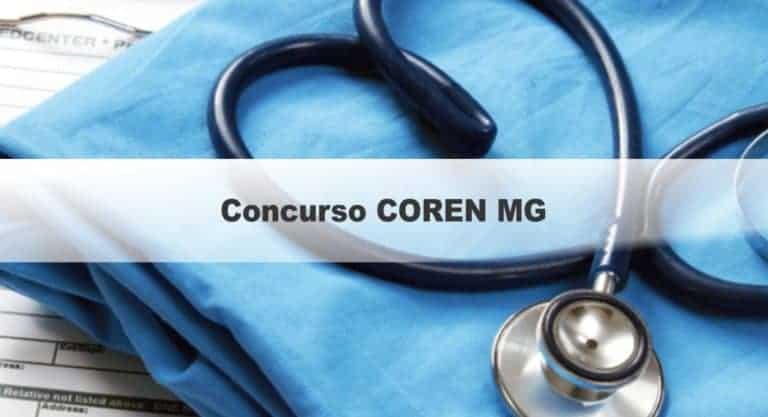 Concurso COREN MG: prorrogação das Inscrições