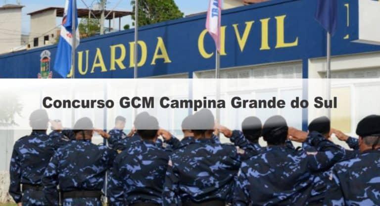 Concurso GCM Campina Grande do Sul PR: Inscrições encerradas