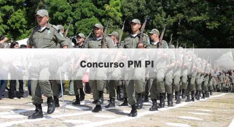 Concurso PM PI: Inscrições encerradas