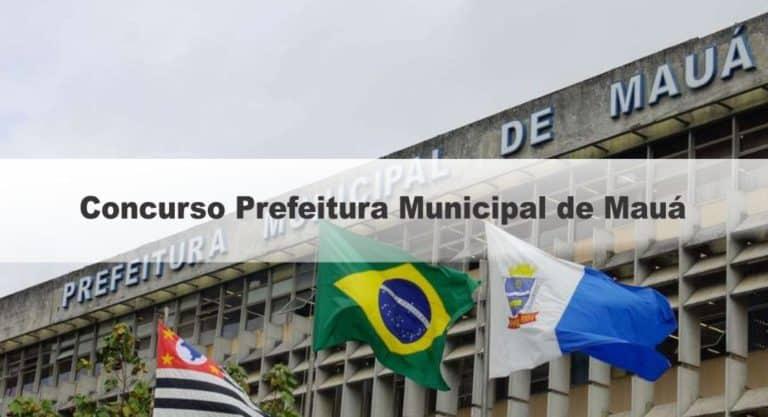 Concurso Prefeitura Municipal de Mauá SP: Suspenso temporariamente! Edital com 147 vagas
