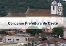 Concurso Prefeitura de Caeté MG
