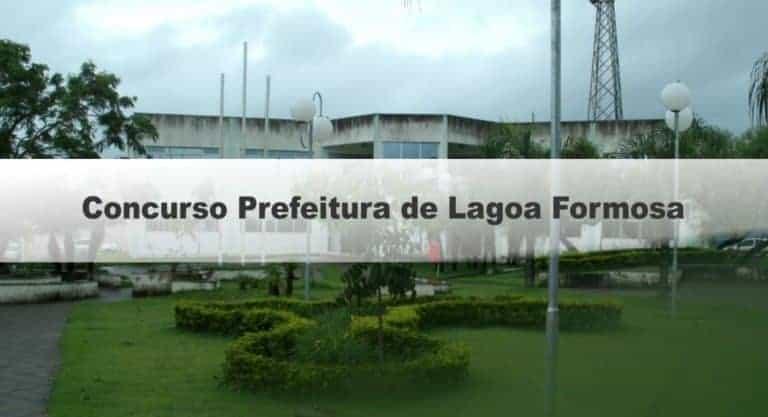 Concurso Prefeitura de Lagoa Formosa MG