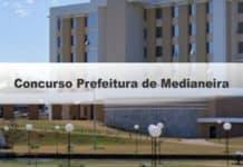 Concurso Prefeitura de Medianeira