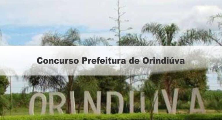 Concurso Prefeitura de Orindiúva SP: Inscrições Encerradas