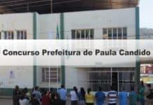 Concurso Prefeitura de Paula Candido