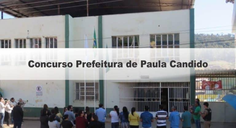 Concurso Prefeitura de Paula Candido MG: Inscrições Encerradas