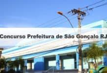 Concurso Prefeitura de São Gonçalo RJ