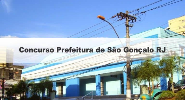 Concurso Prefeitura de São Gonçalo RJ: Provas adiadas