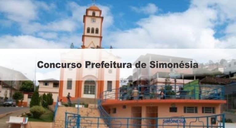 Concurso Prefeitura de Simonésia MG: Inscrições Encerradas