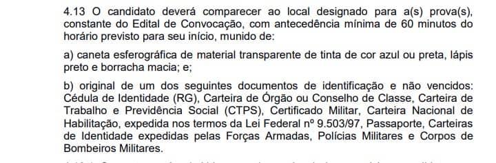 alinea - Concurso Prefeitura de Carmo da Mata MG
