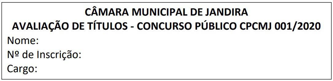 avaliacao de titulos concurso camara de jandira sp - Concurso Câmara de Jandira SP: Inscrições encerradas