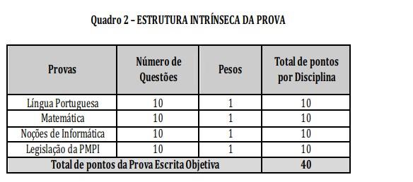provas 20 - Concurso PM PI: Inscrições Encerradas