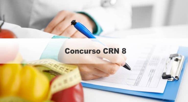 Concurso CRN 8 PR: Inscrições Abertas