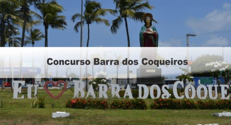 Concurso Barra dos Coqueiros SE: Inscrições Encerradas