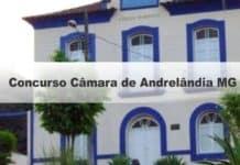 Concurso Câmara de Andrelândia MG
