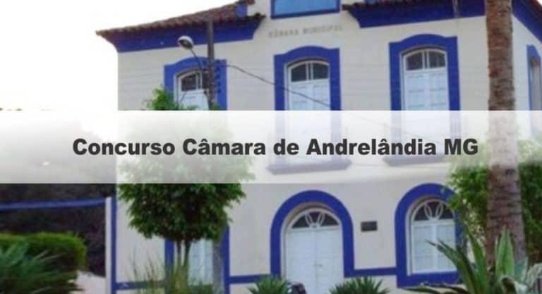 Concurso Câmara de Andrelândia MG: Inscrições encerradas