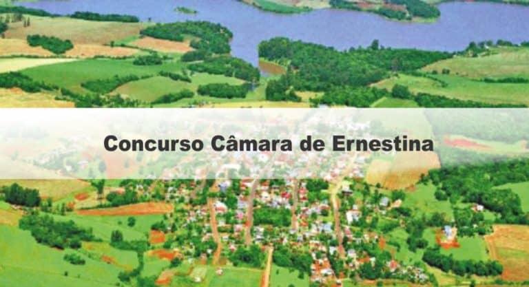 Concurso Câmara de Ernestina RS: Adiamento da Prova Teórico-Objetiva e da Prova Prática