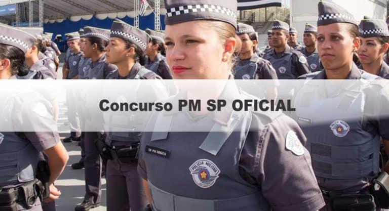 Concurso PM SP Oficial: Saiu o Edital com 130 vagas de nível médio