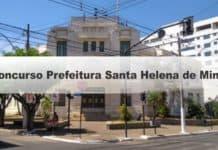 Concurso Prefeitura Santa Helena de Minas MG
