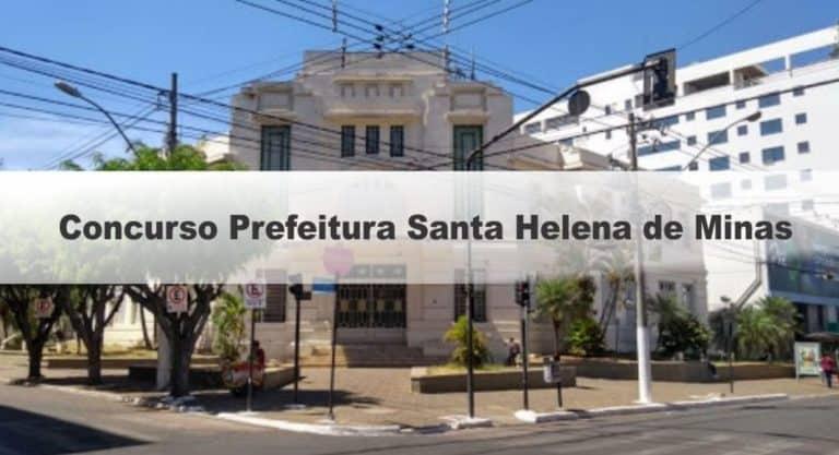 Concurso Prefeitura de Santa Helena de Minas MG 2020: Certame Suspenso