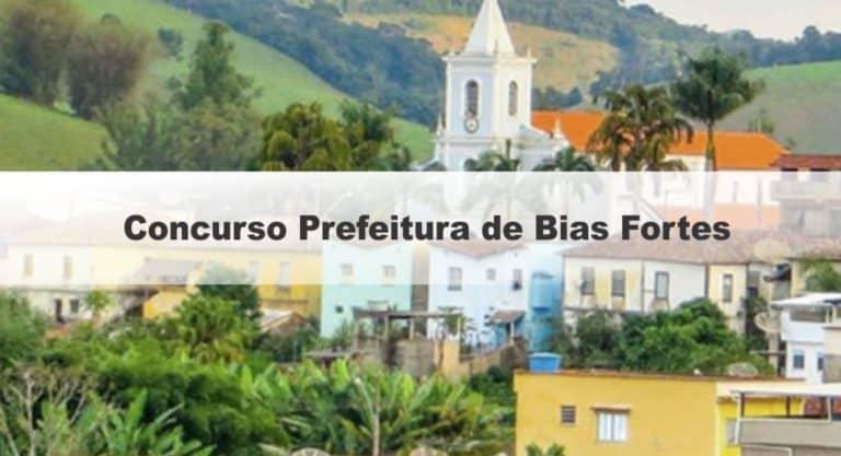 Concurso Prefeitura de Bias Fortes MG