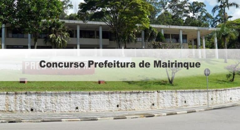 Concurso Fiscal Tributário de Mairinque SP: Inscrições Encerradas