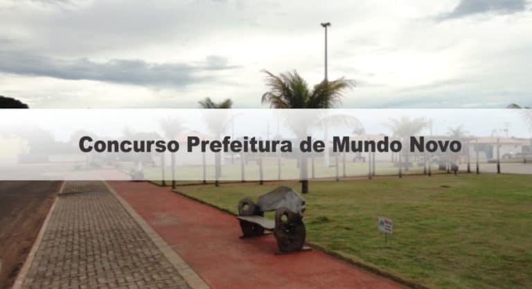 Concurso Prefeitura de Mundo Novo GO: Inscrições Encerradas