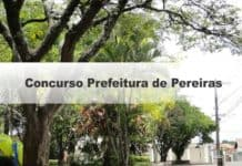 Concurso Prefeitura de Pereiras SP