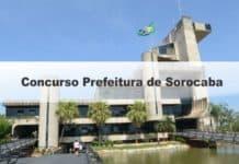 Concurso Prefeitura de Sorocaba SP