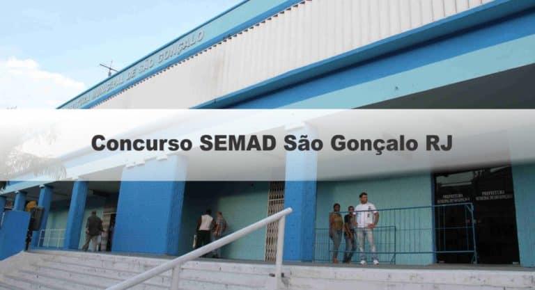 Concurso SEMAD São Gonçalo RJ: Provas marcadas pro dia 11/04/2021!