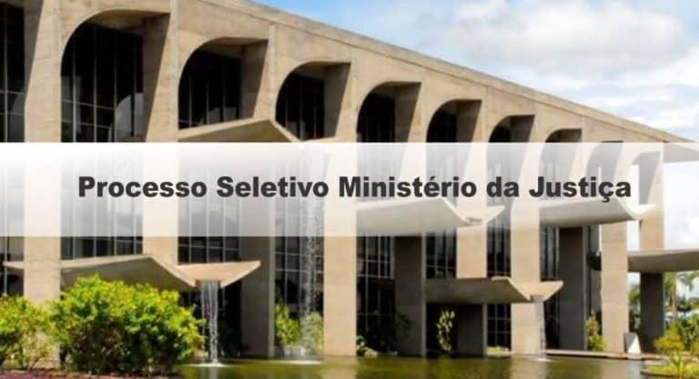 Processo Seletivo Ministério da Justiça: Banca Definida!