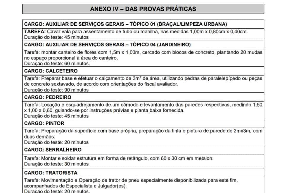 1 - Concurso Prefeitura de São Sebastião da Bela Vista MG:Inscrições Encerradas