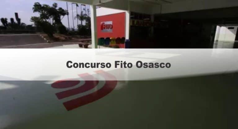 Concurso Fito Osasco SP: Inscrições Encerradas!