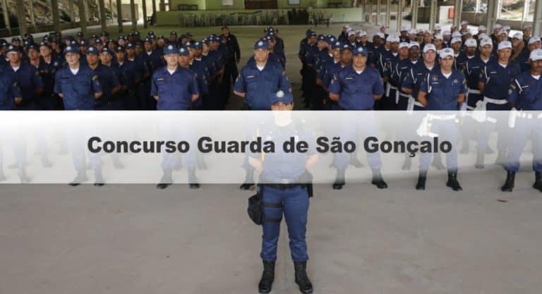 Concurso Guarda de São Gonçalo RJ: Suspenso