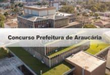 Concurso Prefeitura de Araucária PR
