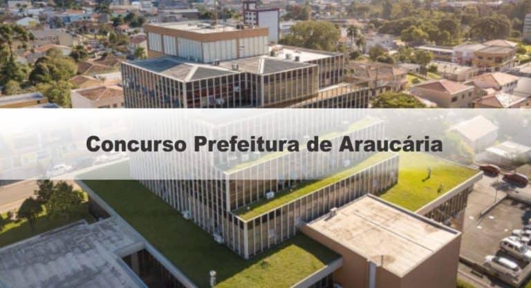 Concurso Prefeitura de Araucária PR: Provas Suspensas
