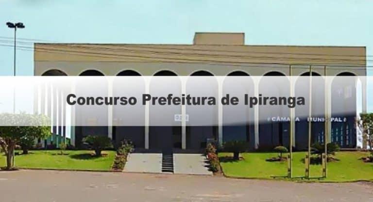 Concurso Prefeitura de Ipiranga GO: Inscrições Abertas
