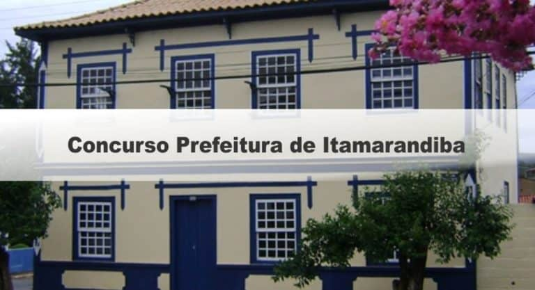 Concurso Prefeitura de Itamarandiba MG: Inscrições encerradas