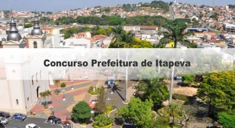 Concurso Prefeitura de Itapeva SP: Inscrições Abertas