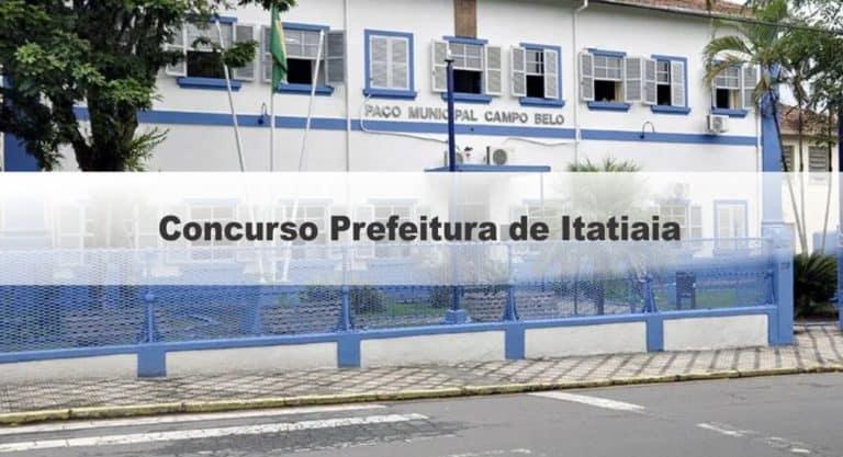 Concurso Prefeitura de Itatiaia RJ:Inscrições Encerradas