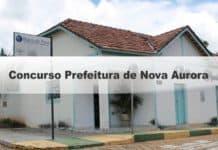 Concurso Prefeitura de Nova Aurora Go