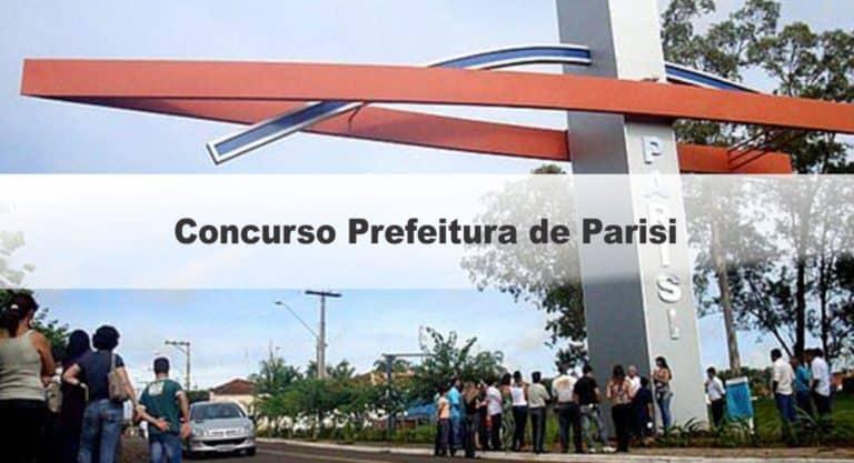 Concurso Prefeitura de Parisi SP:Inscrições Encerradas