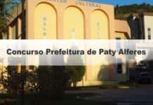 Concurso Prefeitura de Paty Alferes RJ