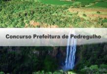Concurso Prefeitura de Pedregulho SP