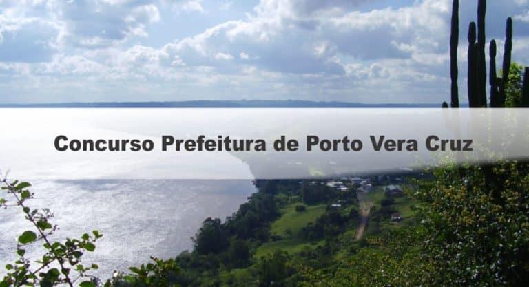 Concurso Prefeitura de Porto Vera Cruz RS:Inscrições Encerradas
